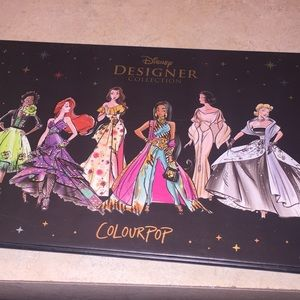 Colourpop Disney eyeshadow palette used once